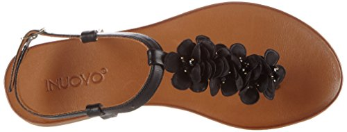 Inuovo Women's 7176 Flip Flops Schwarz (Black) clearance newest IKaX01PSb