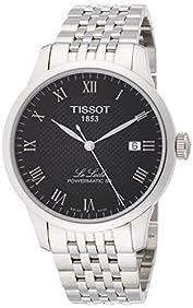 Tissot Le Locle Powermatic 80 Automatic Black Dial Mens T006. 407. 11. 053. 00