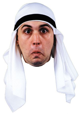 Arabian Headpiece Costume Accessory