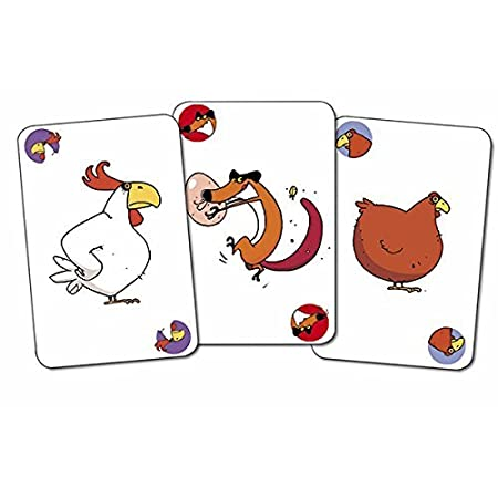 Amazon.com: DJECO Playing Cards - PIOU PIOU: Toys & Games