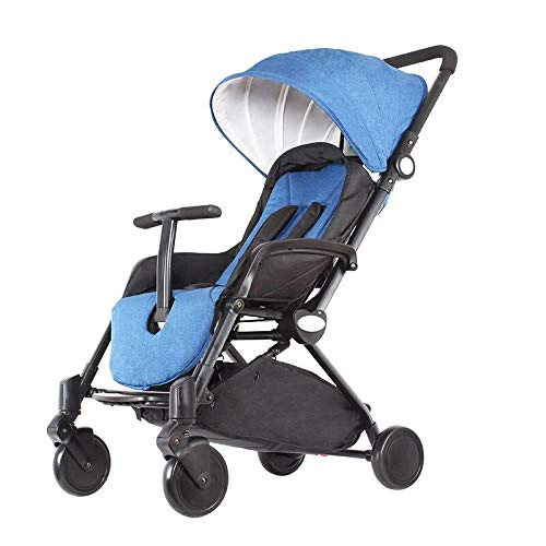 FDGHFGH Baby Stroller Can Sit and Fold Portable Baby Child Tow - Towing Fold