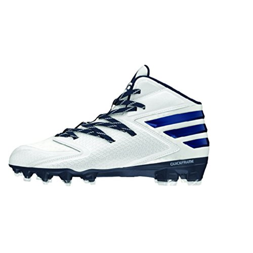 Scarpa Da Calcio Adidas Performance Mens Freak X Carbon Mid Bianco / Bianca / Blu Scuro