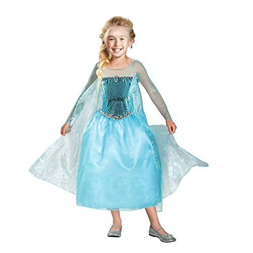 Princess Deluxe Costume (Small 2-4 (Halloween Costume 2-3 Years)