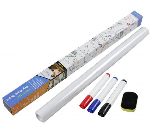 Fancy-fix Vinyl Dry Erase Whiteboard Wall Decals Free 3 Mark