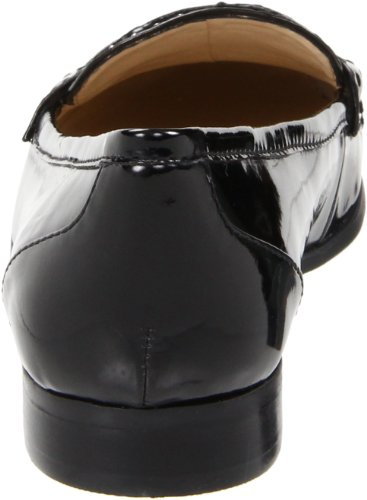 Nine West Frauen SoStriking Loafers Black Patent Synthetic