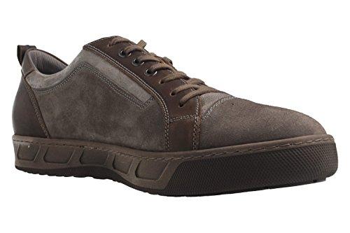 Josef Seibel - Zapatillas de Piel para hombre gris gris 42, color gris, talla 47 EU