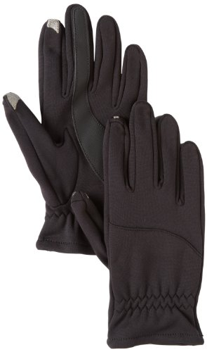 Isotoner Men's Smartouch Knit Glove With Back Tab Unlined...