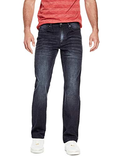 GUESS Factory Men's Crescent Straight