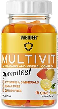Joe Weider Victory Multivit Up 80 gummies,
