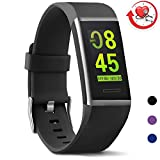 MorePro Fitness Activity Tracker Color Screen, X-Core Sleep Tracker Waterproof Health Watch with Heart Rate Blood Pressure Monitor, Step Calorie Counter Exercise Pedometer for Women Men