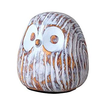 APPS2Car Crafted Owl Statue (Black) Small Animal Figurines For Home Decor,  BFF For Owl Bird Lovers, ...