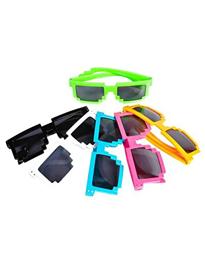 MC Pixelated Sunglasses, - Bit 8 Sunglasses