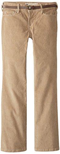 Levi's Women's Petite 515 Cord Bootcut Pant, Latte Cord/Brown Belt, 8/Medium