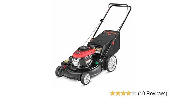 Troy-Bilt TB130 XP 163cc 21 Inch 3-in-1 Gas Push Lawn Mower