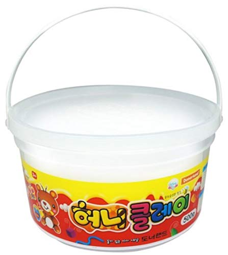 Donerland Honey Clay Bulk Package 500g 1.1lbs (White)