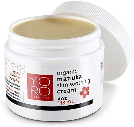YoRo Naturals Organic Manuka Honey Baby Eczema Cream, Psoriasis Cream