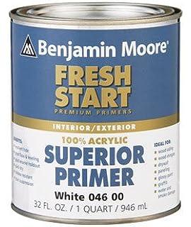 Benjamin Moore Fresh Start Superior Latex Primer Water Based