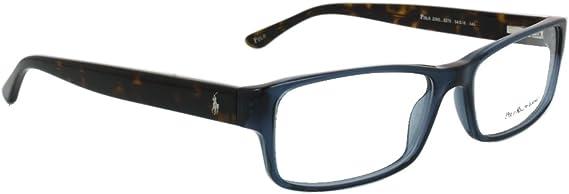 POLO Montura gafas de ver PH 2065 5276 Azul/Transparente 56MM