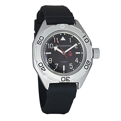 Watch Resin Dive Case (Vostok Amphibian Military Automatic WR 200m Mens Self-winding Amphibia Case Wrist Watch #670540 (resin))