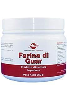 250 g sin gluten de la harina de semilla de guar