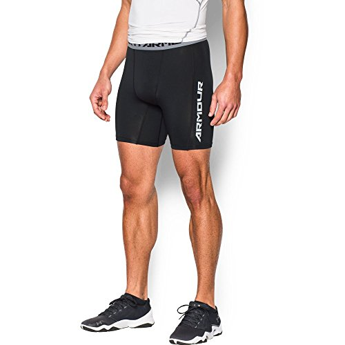 Under Armour Men's CoolSwitch Armour Compression Shorts, Black (001), XX-Large