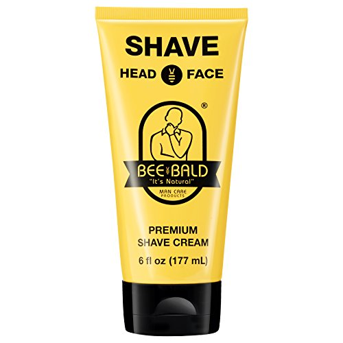 (Bee Bald SHAVE Premium Shave Cream (6 fl. oz.))