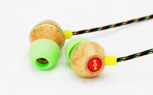 House of Marley People Get Ready In-Ear Headphones with 3 Button Mic - Roots