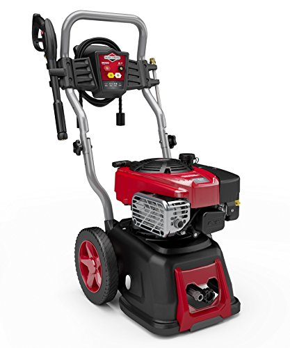 (Briggs & Stratton 20592 2.7-GPM 3000-PSI Gas Pressure Washer with 875-Series OHV 190cc Engine, Full Steel Frame and Quiet Automatic Throttle Control)