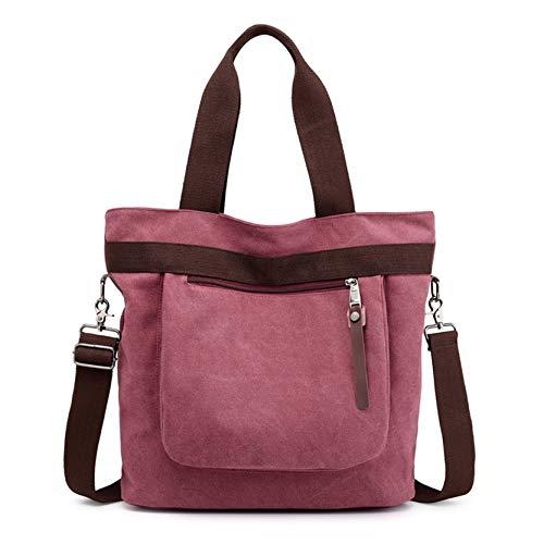 a a Messenger spiaggia tracolla Bag JUNMAONO borsetta tracolla Donna elegante Retro Borsa zaino Borsa da Borse Tela Baccarat Purple Borse Borsa Borse catena xg0PIq7g