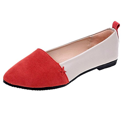Mounter Red Mujer de Poliuretano Fashion XXxq74aU