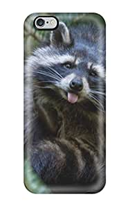 4382926K67389012 For Iphone 6 Plus Tpu Phone Case Cover(raccoon)