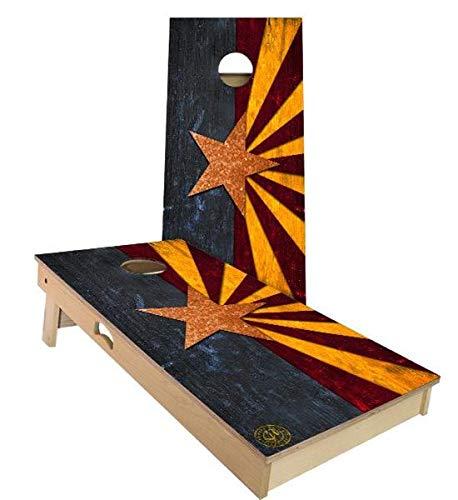 格安販売の Skip's Garage アリゾナ州旗 アリゾナ州旗 コーンホールボードセット - サイズとアクセサリーをお選びください - ボード2枚 Bags) Filled バッグ8枚 B07N46P2TS C. 2x4 Boards (Corn Filled Bags)|A.付属品なし C. 2x4 Boards (Corn Filled Bags), Tricolore [トリコローレ]:8fc98b70 --- staging.aidandore.com