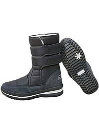 Respeedime Winter Waterproof Non-Slip Flat Snow Boots Women Plush Cotton Shoes