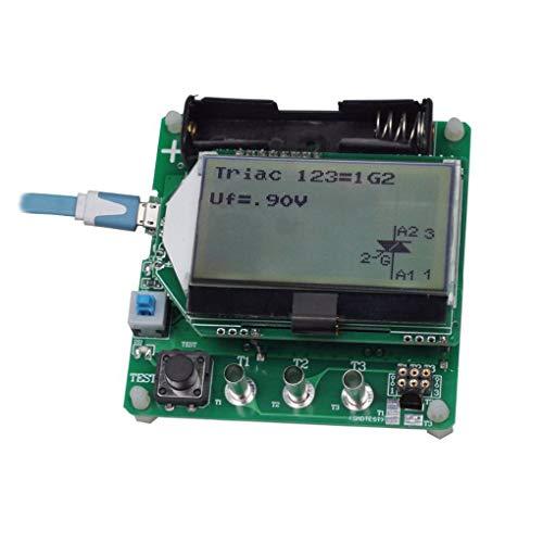 Digital Transistor Tester Diode Triode F C R MOS/PNP/NPN M328 Inductance Capacitance ESR Meter Stevlogs
