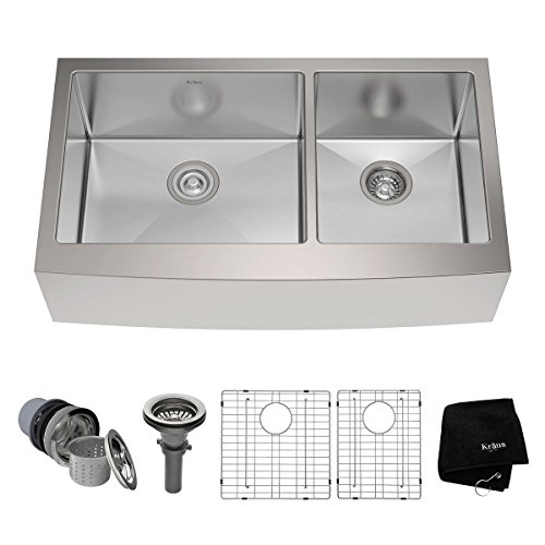 Large Kitchen Sinks | 10 Best Kitchen Sinks Reviews Buying Guide 2019