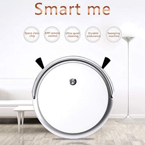 Aspirateur Robot Pet Professional, 3-In-1 Smart Aspirateur APP Planification Du Contrôle Électronique Sans Fil Réservoir D\'eau Household Cleaner