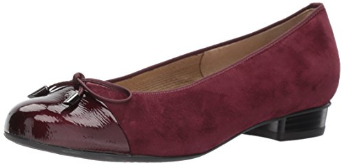ara Women's Betty Ballet Flat, Barolo Suede, 6.5 M US ()