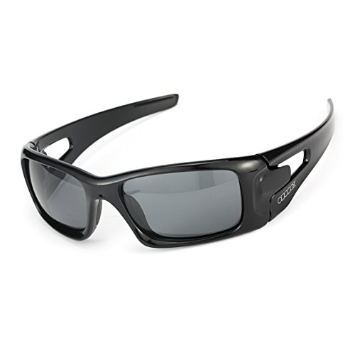 ODODOS - Polarized Sports Sunglasses With Superlight Unbreakable Frame for Men Women Other Outdoor Activities - UV400 - Prescription Holbrook Lenses