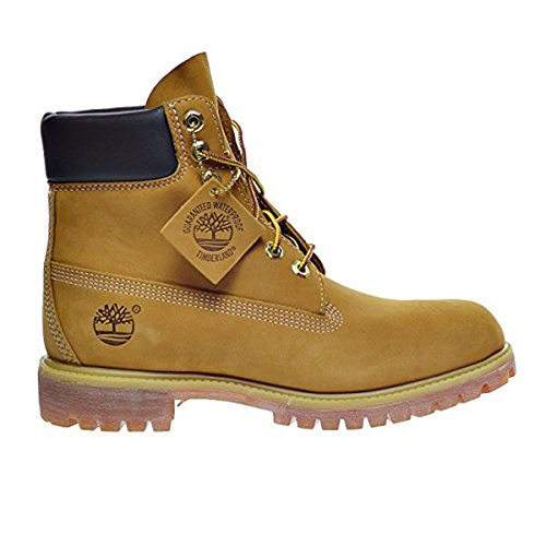 Timberland 6 Inch Premium Men's Boots Wheat Nubuck tb010061 (11 D(M) US) Mens Classic 6 Inches Boot