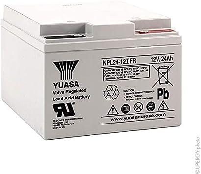 Batterie Batterie plomb AGM NP4-12 FR 12V 4Ah YUASA s Yuasa