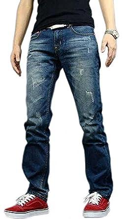 Newfacelook Men's Designer Jeans Casual Denim Mens Pant Fashion ...