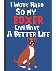 My Boxer Pet Health Record Book: Pet Health Tracker - Puppy Wellness Journal And Logbook to Record Dog Medications, Vet Visits, Vaccines, Meals & Daily Activities - Gift For Boxer Dog Owners and Lovers