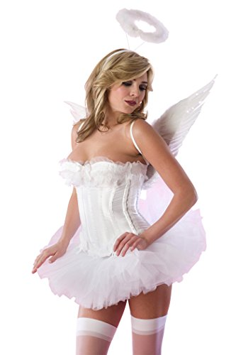 Velvet Kitten Angel Costume