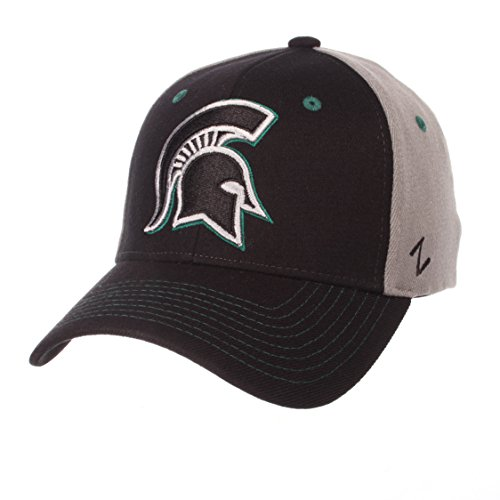 State Spartans Men's Duo Hat, Medium/Large, Black/Gray ()