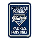 MLB Padres 12 by 18 Fan Parking Sign