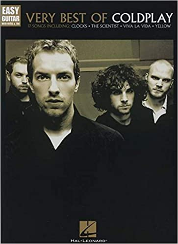 Amazon.com: Very Best Of Coldplay - Easy Guitar With Tab ...