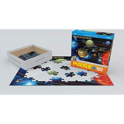 The Solar System 100 Piece Jigsaw Puzzle: Toys & Games