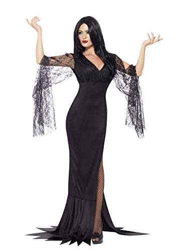 Smiffys Women's Immortal Soul Costume, Dress, Legends of Evil, Halloween, Size 14-16, 43726 ()