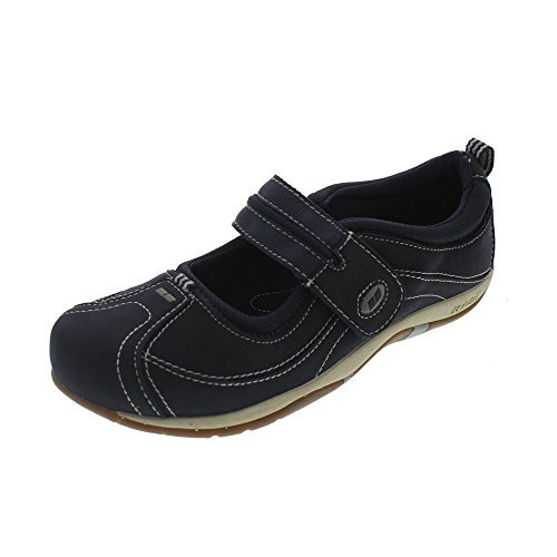Ryka Womens Work Out Mary Jane Walking Shoes Navy 7 Wide (C,D,W)