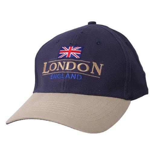 London England GB Union Jack Embroidered Baseball Cap...